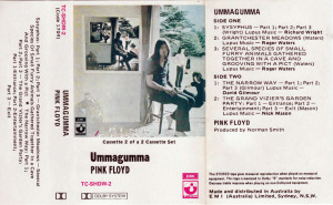 Pink Floyd's Ummagumma - Classified News is used for the track list.